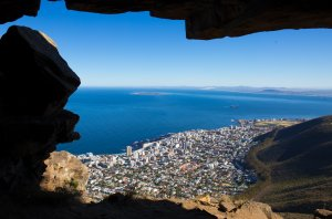The view from Lions head over Cape Town. The South African metropole is one of the cities where development planning is happening. Picture: Dominik Müller